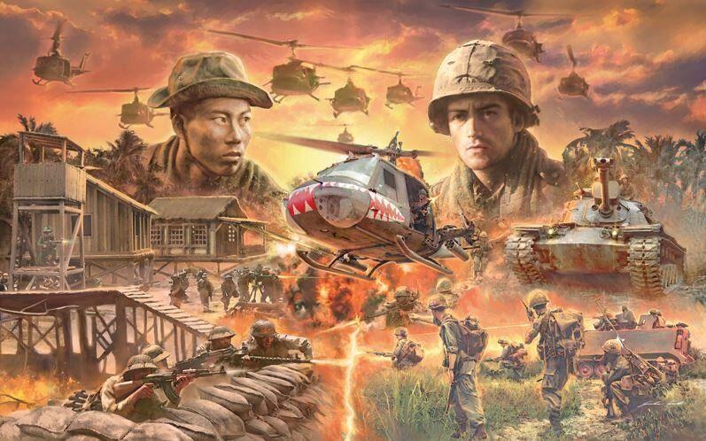 Набор Операция Серебряный штык - Вьетнамская война 1965 - Битва Italeri  6184 - Сборные модели BOX24
